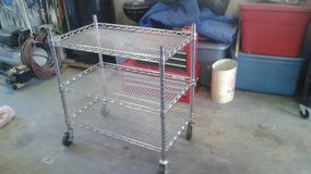 Seville Classics Stainless Steel Wheeled Utility Cart in CyFair, Texas
