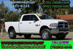 2017 Ram Ram Pickup 2500 SLT 4x4 Diesel Ask for Louis (760) 802-8348 in Camp Pendleton, California