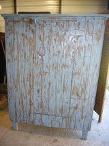 EARLY HEART PINE PAINTED CABINET in Camp Lejeune, North Carolina