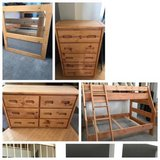 4pc Sundance Twin/Full Bunk Bed Set-The Room Place in Naperville, Illinois