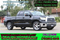 2007 Toyota Tundra SR5 Ask for louis (760) 802-8348 in Oceanside, California
