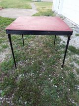 Table*Fold Up*Vintage*Heavy Duty*Ex Condition*Camping in Rolla, Missouri