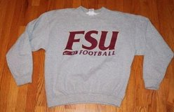 Vintage Florida State University NIKE 97 Football Gray Sweatshirt, Medium in Westmont, Illinois