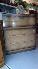 1950's Five Drawer Dresser in Joliet, Illinois