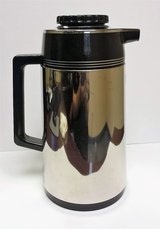 Vintage Stainless Steel Coffee Carafe 1L Decanter Made in Japan in St. Charles, Illinois