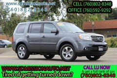 2012 Honda Pilot EX-L Ask for Louis (760) 802-8348 in Camp Pendleton, California