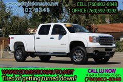 2013 GMC Sierra 2500HD SLE 4X4 diesel Ask for Louis (760) 802-8348 in Camp Pendleton, California