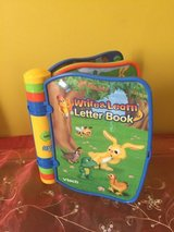 vtech write and learn letter book electronic talking alphabet abc storybook in Naperville, Illinois