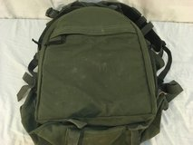 military surplus tactical olive drab green padded waist strap 14 x 18 backpack  01632 in Huntington Beach, California