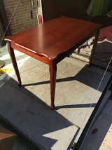 Antique Wooden Table in Camp Lejeune, North Carolina