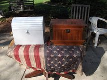 SET OF 2 TREASURE CHESTS ALL WOOD in Joliet, Illinois