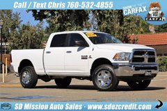 2017 Ram Ram 2500 SLT 16K miles Cummins White 4x4 Diesel Dodge in Camp Pendleton, California