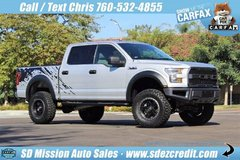 2017 Ford F-150 4x4 V8 5.0 Lifted Raptor Look - Must See in Vista, California