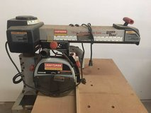 """Craftsman 3 HP 10"""" Radial Arm Saw with LaserTrac in Kingwood, Texas"""