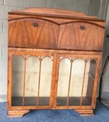 Rare Antique Waterfall Bookcase in Fort Benning, Georgia