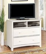 New White Hardwood Dresser or TV Media Stand Chest  FREE DELIVERY in Miramar, California