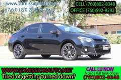2015 Toyota Corolla LE Plus Ask for Louis (760) 802-8348 in Camp Pendleton, California