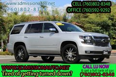 2015 Chevrolet Tahoe LTZ Ask for louis (760) 802-8348 in Vista, California