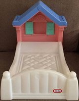 Little Tikes Storybook Cottage Doll Bed Fits American Girl Dolls in Glendale Heights, Illinois