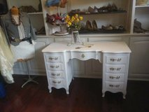 Stunning French Provincial Desk with Gold Hardware in Quantico, Virginia