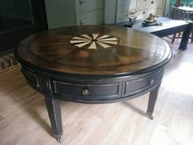 Beautiful Refinished Compass Occasional Table in Quantico, Virginia