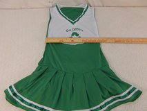 go green recycling polyester halloween one size fits most green cheer uniform  01424 in Huntington Beach, California
