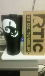 NEW Rtic 30oz Black tumbler w/ Boogie Man, Jack, & Sally in Warner Robins, Georgia