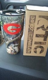 NEW Rtic 30oz Camo tumbler w/ Georgia G in Warner Robins, Georgia