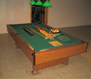 Pool Table Light Fixture in Oswego, Illinois