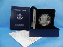 2002 w american eagle,  one ounce silver  proof coin , coa in Camp Lejeune, North Carolina
