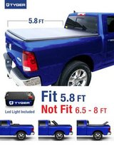 Tyger Tonneau Cover Fits 2009-2017 Dodge Ram 1500 5.8ft Bed in Naperville, Illinois