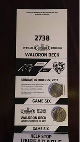 Chicago Bears vs Panthers Waldron Deck Parking Pass in Naperville, Illinois