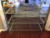 Grey 3 shelf strong storage rack in Beaufort, South Carolina