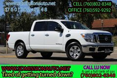 2017 Nissan Titan SV Ask for louis (760) 802-8348 in Camp Pendleton, California