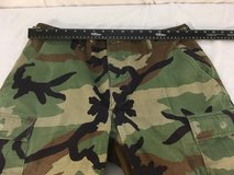 propper hot weather bdu woodland starched medium battle dress pants small hole  01771 in Fort Carson, Colorado