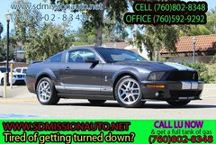 2008 Ford Shelby GT500 Base Asak for Louis (760) 802-8348 in Camp Pendleton, California