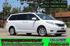 2011 Toyota Sienna XLE 8-Passenger Ask for Louis (760) 802-8348 in Vista, California