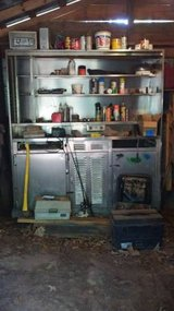 Stainless Steel Metal Tool Cabinet (Reduced) in Warner Robins, Georgia