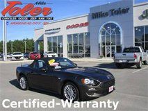 2017 Fiat Spider Convertible-Certified-Warranty-(Stk#14718a) in Cherry Point, North Carolina