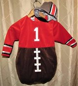 Koala Kids Football Costume 18 - 24 mos 2 piece set Halloween Player H in Tacoma, Washington