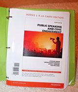 Public Speaking and Civic Engagement by J. Michael Hogan, Glen Williams,... in Joliet, Illinois