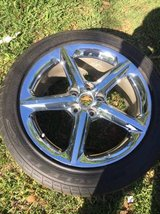 SATURN SKY CHROME WHEEL AND TIRE in Cleveland, Texas