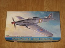 "Hasegawa Hurricane Mk.IIC ""Night Hurricane"" 1/48 Scale Model Kit JT164:2200 in Vista, California"