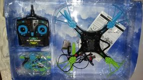 Drone with extra blades and 2 batteries in Morris, Illinois