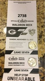 Bears vs Packers Waldron Deck Parking Pass in Westmont, Illinois