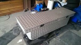 Tool Box diamond plate aluminum full size tool box in Fort Lewis, Washington