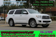 2011 Toyota Sequoia Limited Ask for Louis (760) 802-8348 in Oceanside, California