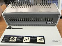 IBICO KOMBO Heavy Duty Plastic Comb Binder Binding Booklet Machine in Yorkville, Illinois