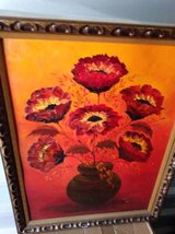 Flower Oil Painting in Travis AFB, California