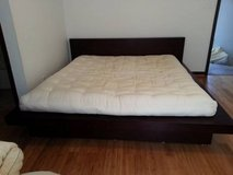"""King size 8"""" Organic Wool Mattress (natural bed frame also available) in San Antonio, Texas"""